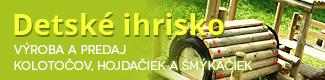 banner Výroba a predaj kolotočov, hojdačiek a šmýkačiek