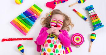 Nové hudobné nástroje pre deti