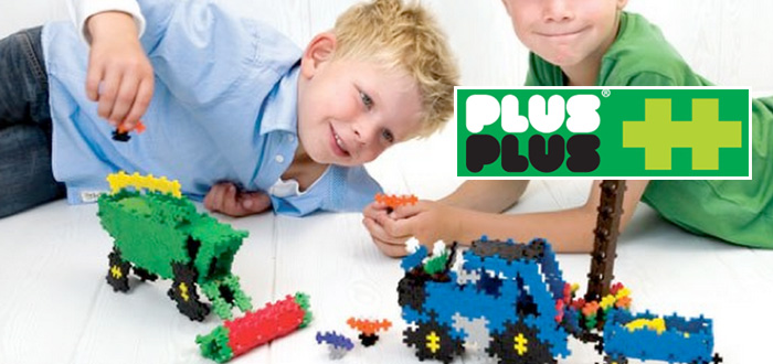 Osvedčená klasika – puzzle stavebnica Plus Plus