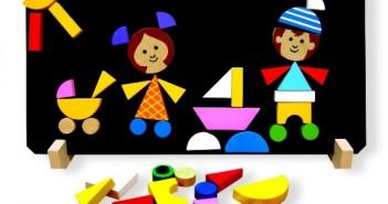 Magnetické puzzle Deti