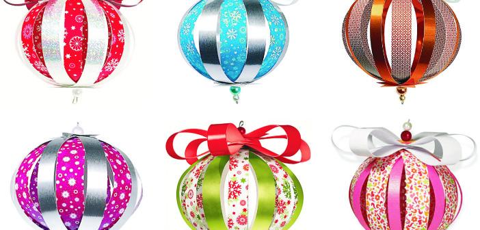 Vyrobte si krásne dekoratívne ozdoby gule
