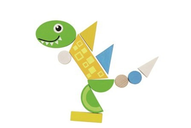 Magnetické puzzle – Dino a ZOO