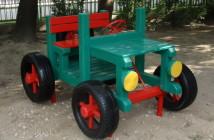 Auto Jeep - rozpravkový autopark