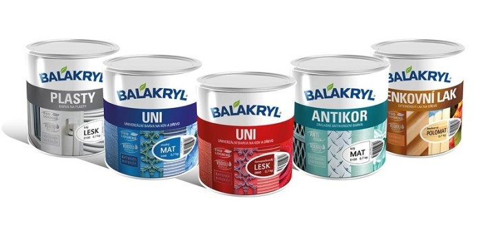 Finálne farby detského ihriská Balykryl UNI lesk