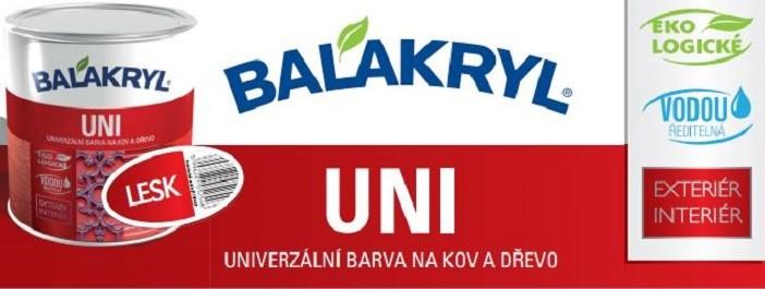 Certifikát, technický list a KBU Balakryl UNI lesk