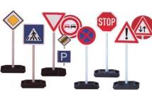 Bezpečnosť začína tu, dopravné značky