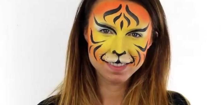 Ako na to s farbami Snazaroo – Tiger