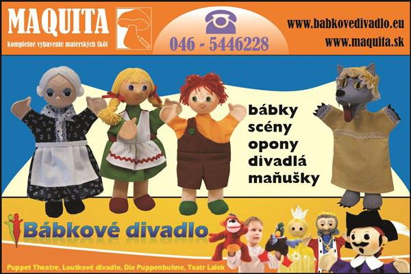Predstavujeme www.babkovedivadlo.eu