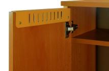detail 4 Skriňa šatnová 2-dielná nízká 660x1400x400 mm dina