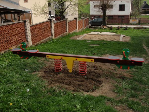 detske ihrisko MŠ Podhorie, 2011