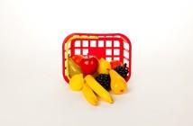 Plastové makety potravín a zeleniny