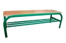 Akcia na plochooválne šatňové lavičky