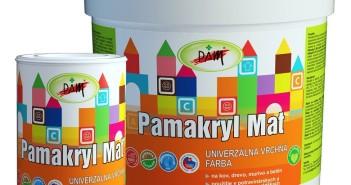 Nové moderné farby v ponuke Pamakryl Mat