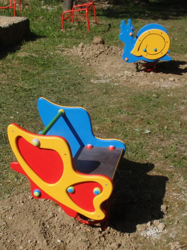 detske ihrisko MŠ Snina, Budovatelská, 2011