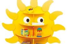 Nábytkové detské knihovníčky