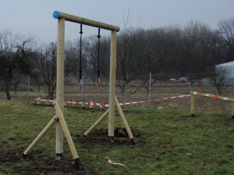detske ihrisko Obec Kazimír, 2011