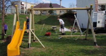 detske ihrisko ZŠ Bzovík, 2011