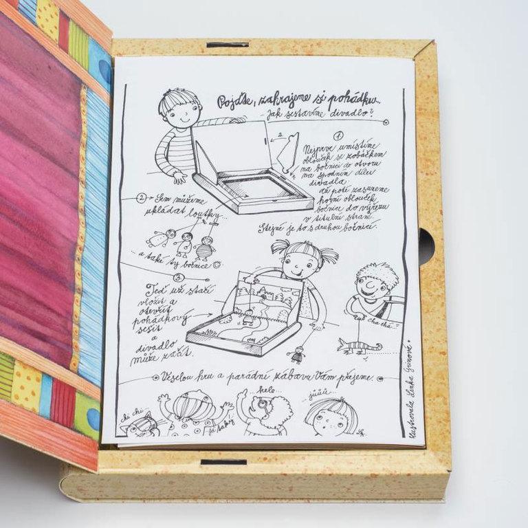 Čítame deťom Gerlichovo knižné bábkové divadlo