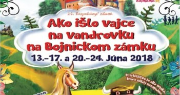 Ako išlo vajce na vandrovku, Bojnice 2018