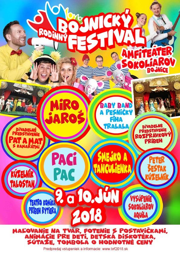 Bojnický rodinný festival 2018