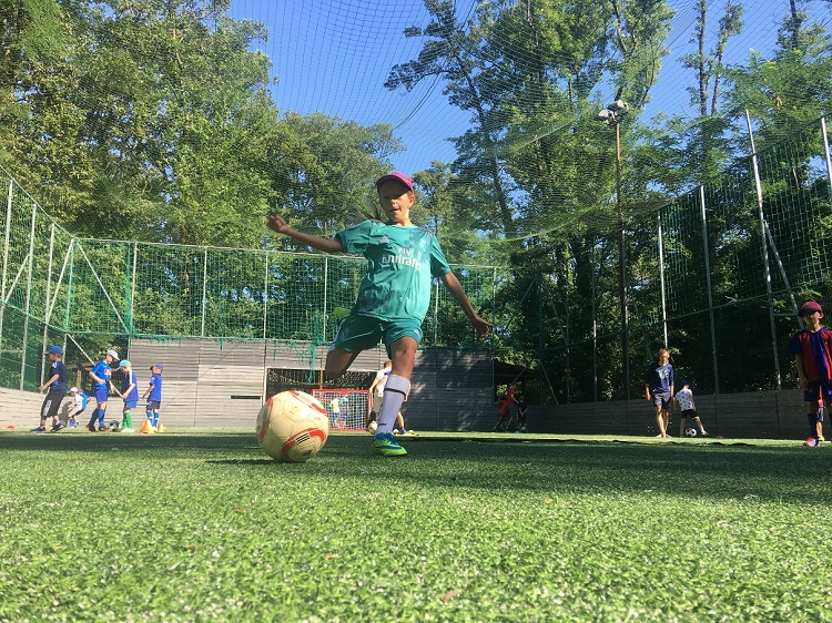 Futbalový tréning - skupinová forma tréningu