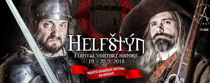 Helfštýn - Festival vojenskej histórie, Týn nad Bečvou 19.-20. 5. 2018