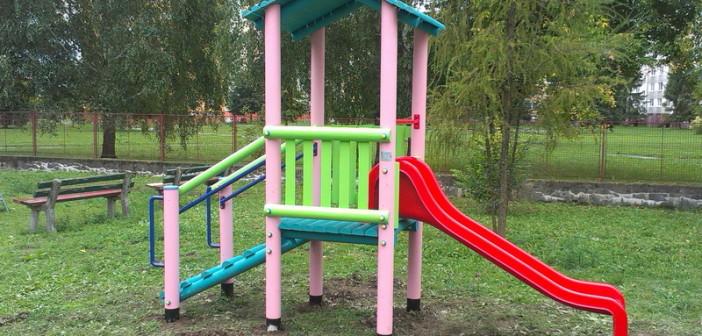 detske ihrisko MŠ Spišská Nová Ves, Jilemnického, 2013