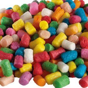 Playmais dieliky sú vyrobené z kukurice, vody a potravinárskych farbív.