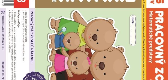 Pracovný zošit Veselé rátanie, matematické predstavy pre 4-5 ročné deti