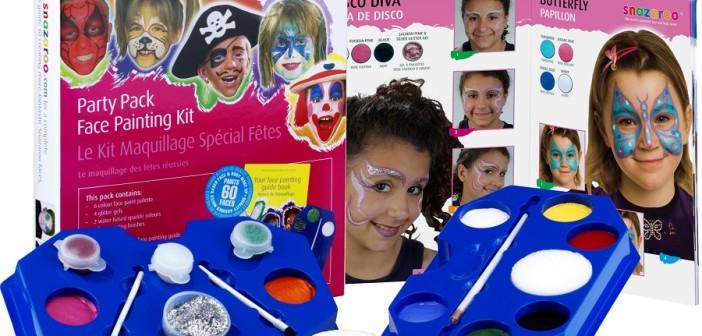 Snazaroo farby na tvár – návod na použitie