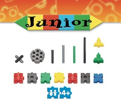 Stavebnica Morphun druhy kociek v serii Junior