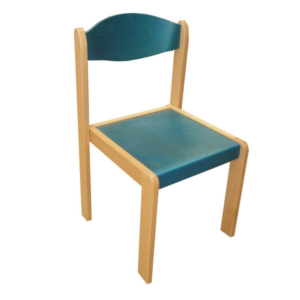 Stohovateľná stolička EMA MQT-EMA-0262 modrá
