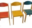 Stohovateľná stolička Ema pre materské školy