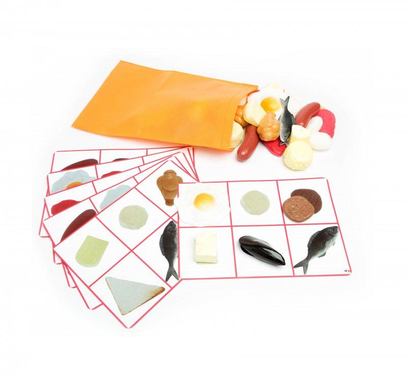 Taktilná hra - Mäso a syr