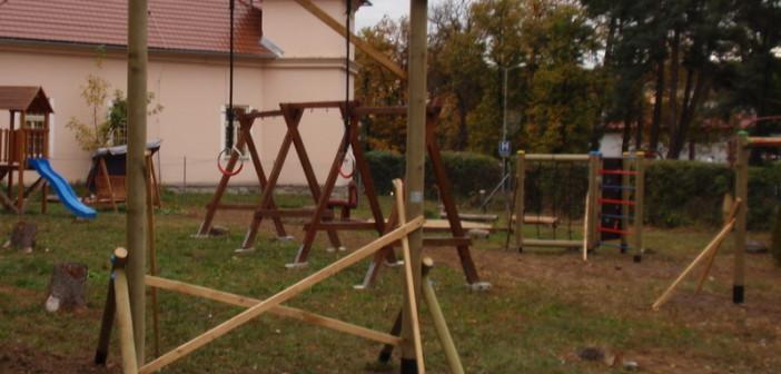 detske ihrisko ZŠ Krupina, Štefánikova, 2011