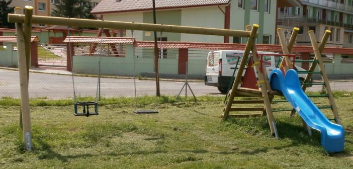 detske ihrisko Obec Pravenec, 2013