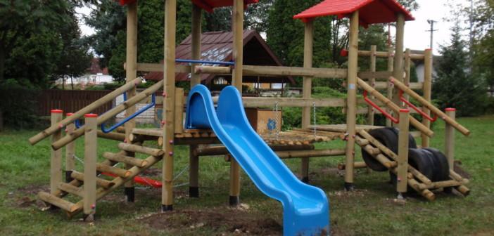 detske ihrisko MŠ Beluša, 2011
