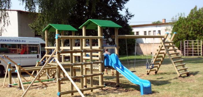 detske ihrisko MŠ Gemerská Panica, 2011