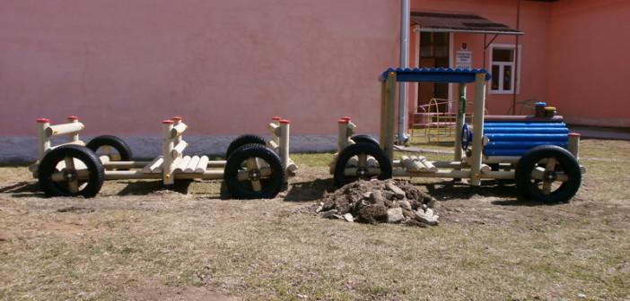 detske ihrisko MŠ Závadka nad Hronom, 2012