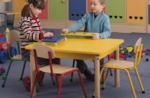 Stohovateľné stoličky Karolman