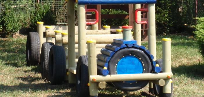 detske ihrisko MŠ Veľké Bierovce, 2011