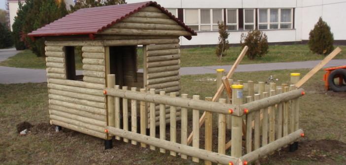detske ihrisko ZŠ Rimavská Sobota, Clementisa, 2011