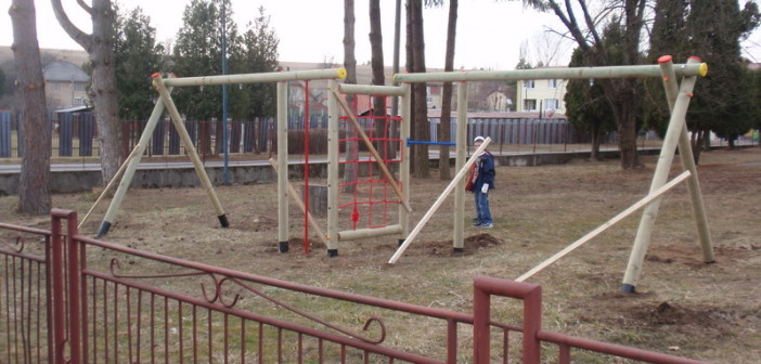 detske ihrisko ZŠ Pliešovce, 2012