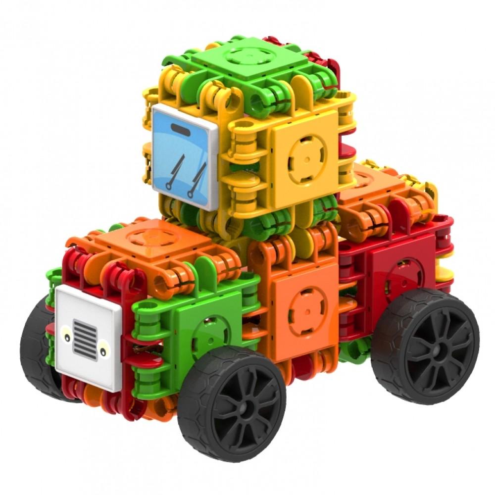 Stavebnice Clicformers sú konštrukčnou hračkou pre deti od 4 rokov