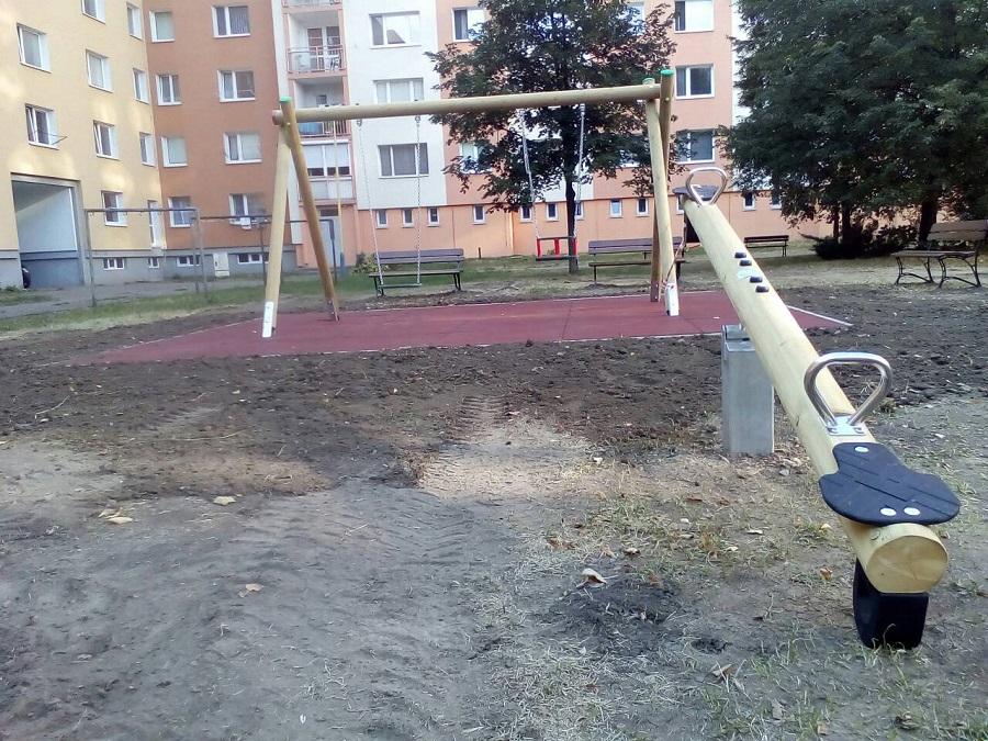 Detské ihrisko, sídlisko Sekčov, Prešov 2018