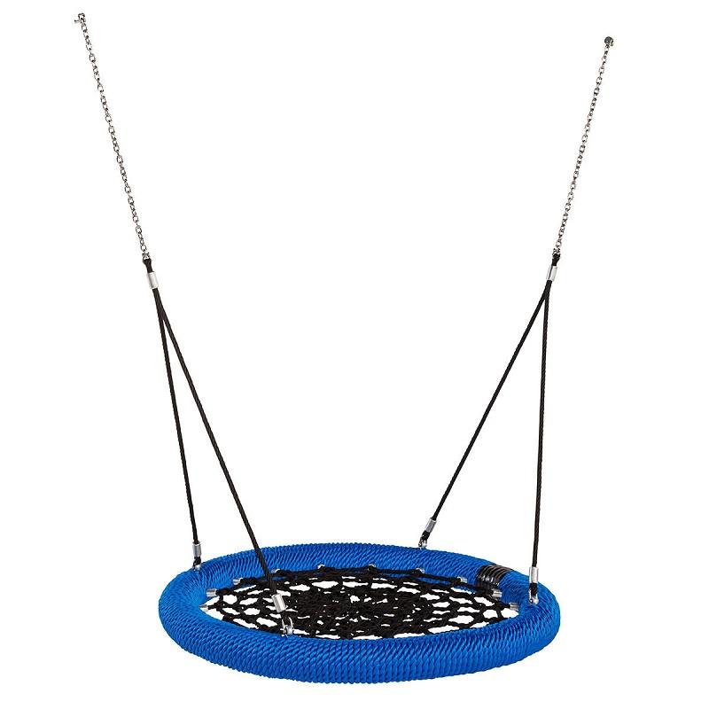 Hojdačka hniezdo Rosette EN1176 modrá  čierná