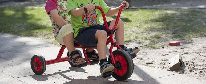 Kolesové kolobežky a trojkolky – séria Mini Viking