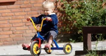 Séria kolesových hračiek Mini Viking