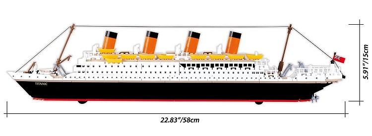 Stavebnica COBI R.M.S. Titanic 1914