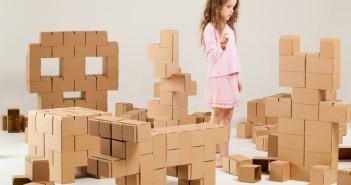 Stavebnice GIGI Bloks - obrie kartónové lego